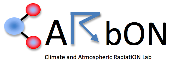 The Climate and Atmospheric Radiation (CARbON) Lab