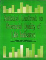 Statistical handbook on provincial quality of life indicators