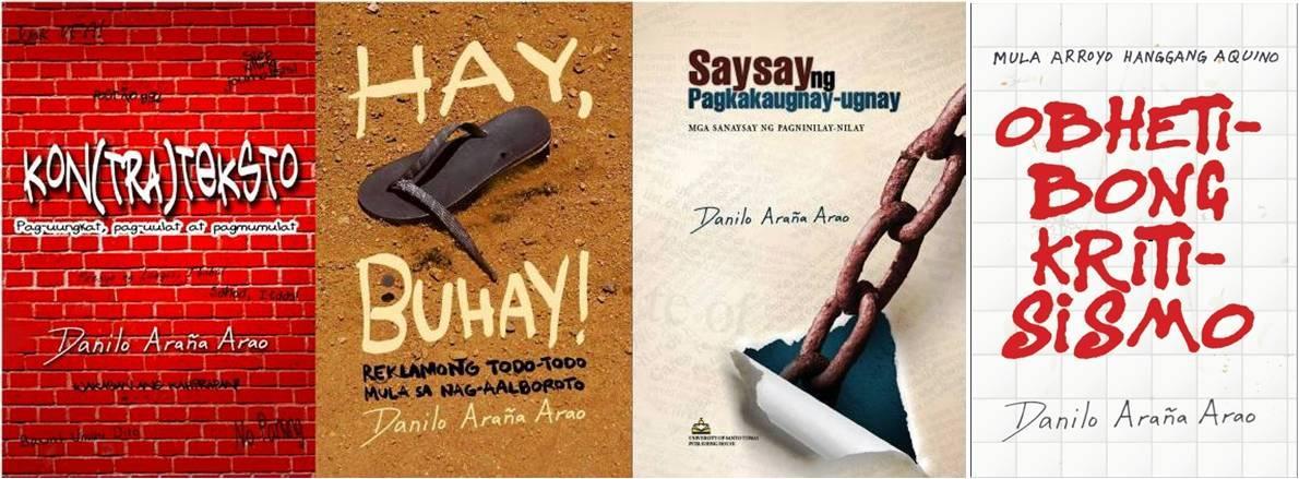 Four refereed books of Danilo Araña Arao