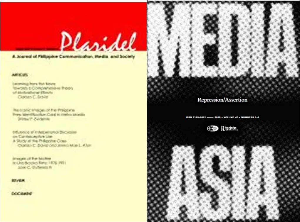 covers of edited issues