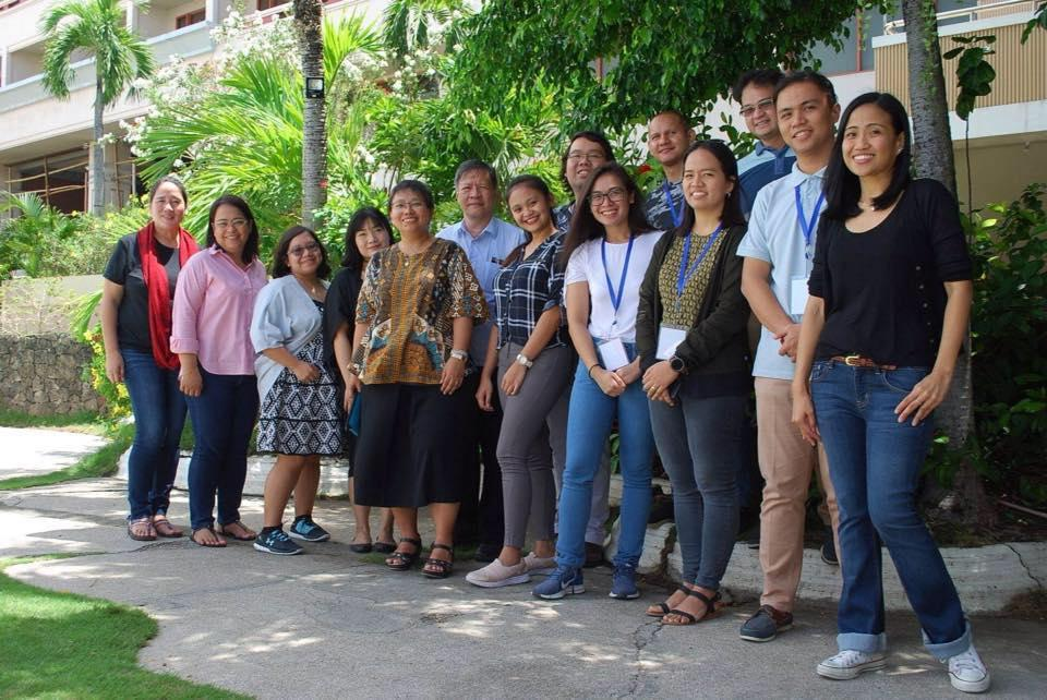 Department faculty at the 2019 CSSP Faculty Conference in Iloilo